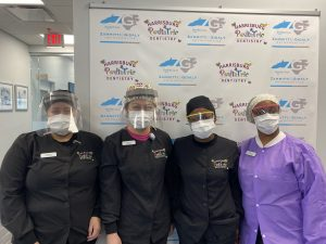 The dental assistants at Harrisburg Pediatric Dentistry